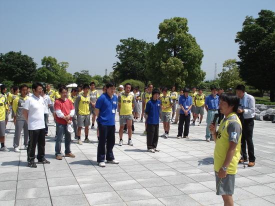 清掃活動池谷GM