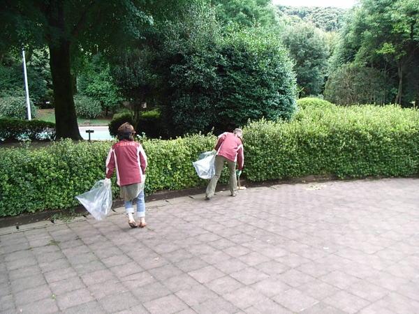 セブンイレブン清掃活動